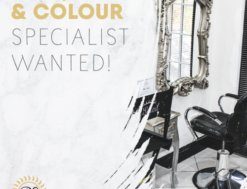 Hair, Cut & Colour Specialist Wanted